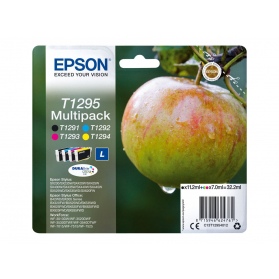 Pack EPSON T1295 - 4 cartouches compatible