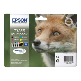 Pack EPSON T1285 - 4 cartouches compatible