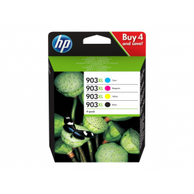 Pack HP 903 XL - 4 cartouches compatible