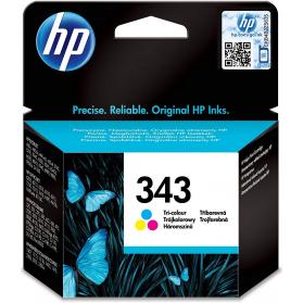 Cartouche HP 343 - 3 couleurs remanufacturée