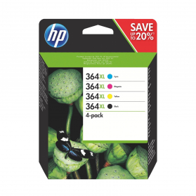 Pack HP 364 XL - 4 cartouches compatible