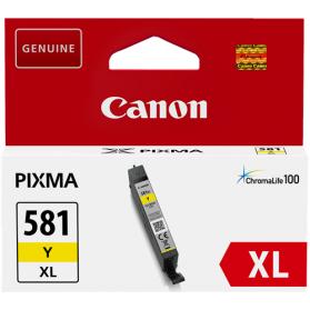 Cartouche CANON CLI-581 XL - Jaune ORIGINE