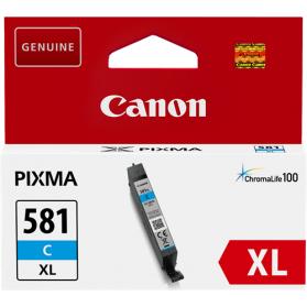 Cartouche CANON CLI-581 XL - Cyan ORIGINE