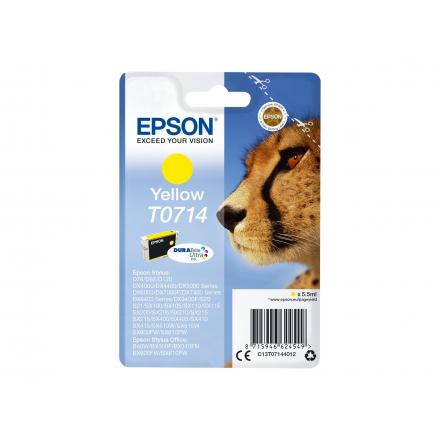 Cartouche EPSON T0714 - Jaune ORIGINE
