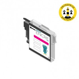 Cartouche BROTHER LC1100M XL - Magenta compatible
