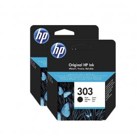 Pack HP 303 x2 - Noir ORIGINE