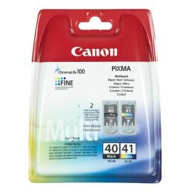 Pack CANON PG-40/CL-41 - Noir et couleurs ORIGINE