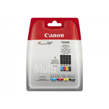 Cartouche CANON CLI-551BK - Noir compatible
