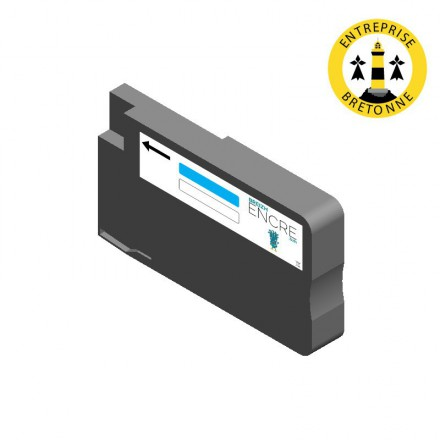 Cartouche EPSON T7562 - Cyan compatible