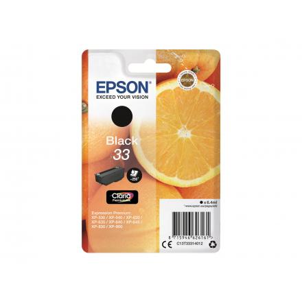 Cartouche EPSON 33 - Noir ORIGINE