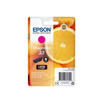 Cartouche EPSON 33 - Magenta ORIGINE