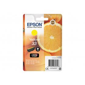 Cartouche EPSON 33 - Jaune ORIGINE