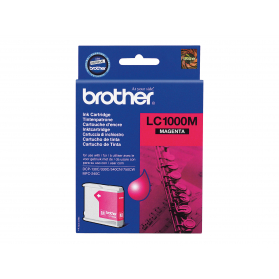 Cartouche BROTHER LC1000M - Magenta ORIGINE