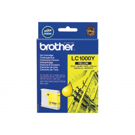 Cartouche BROTHER LC1000J - Jaune ORIGINE
