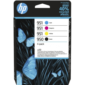 Pack HP 950/951 - 4 cartouches ORIGINE