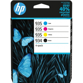 Pack HP 934/935 - 4 cartouches ORIGINE