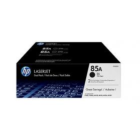 Pack HP 85A x2- Noir ORIGINE