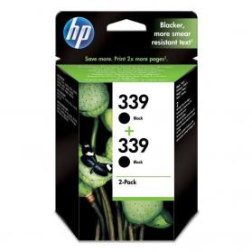 Pack HP 339 x2 - Noir ORIGINE