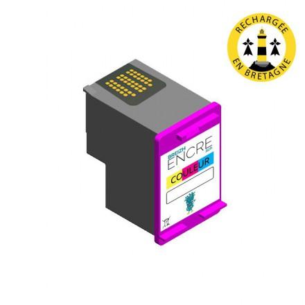 Cartouche HP 62 XL - 3 couleurs compatible