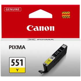 Cartouche CANON CLI-551 - Jaune ORIGINE