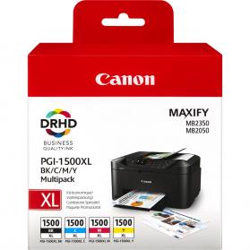 Pack CANON PGI-1500XL - 4 cartouches ORIGINE