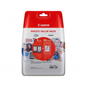 Photo Value Pack CANON PG-545 XL/CL-546 XL - Noir et couleurs ORIGINE