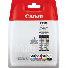 Pack CANON CLI-581- 4 cartouches ORIGINE