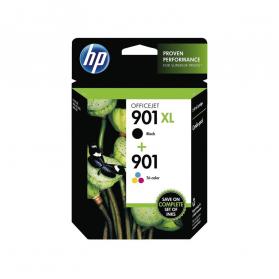 Pack HP 901 - Noir XL et couleurs ORIGINE