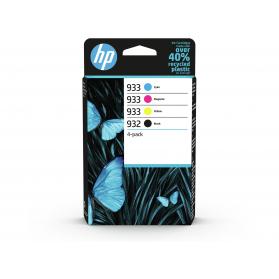 Pack HP 932/933 - 4 cartouches ORIGINE
