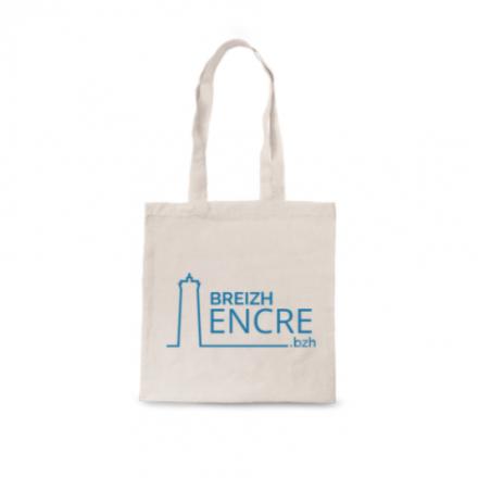 Tote Bag sérigraphié 100% coton - BREIZH ENCRE 2021