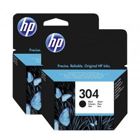 Pack HP 304 x2 - Noir ORIGINE
