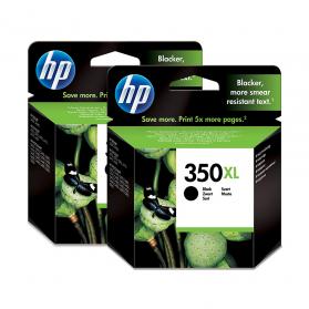 Pack HP 350 XL x2 - Noir ORIGINE