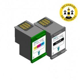 Pack HP 338/343 - Noir et couleurs compatible