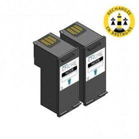 Pack HP 339 x2 - Noir compatible