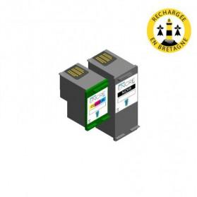 Pack HP 350/351 XL - Noir et couleurs compatible