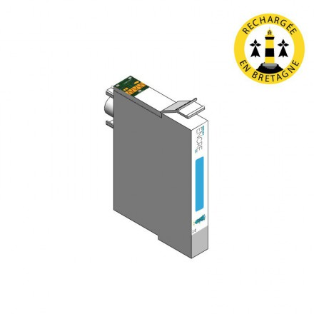 Cartouche HP 363 - Cyan clair compatible
