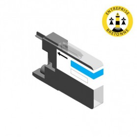 Cartouche BROTHER LC1240C - Cyan compatible