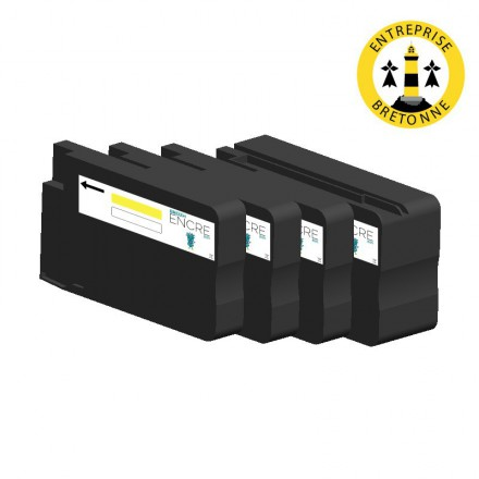 Pack HP 950/951 XL - 4 cartouches compatible