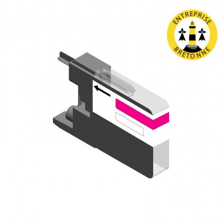 Cartouche BROTHER LC1280XLM - Magenta compatible