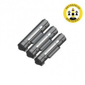 Pack HP 36A x3 - Noir compatible