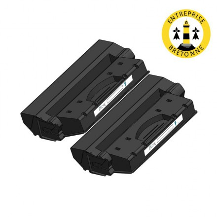 Pack HP 90A x2 - Noir compatible